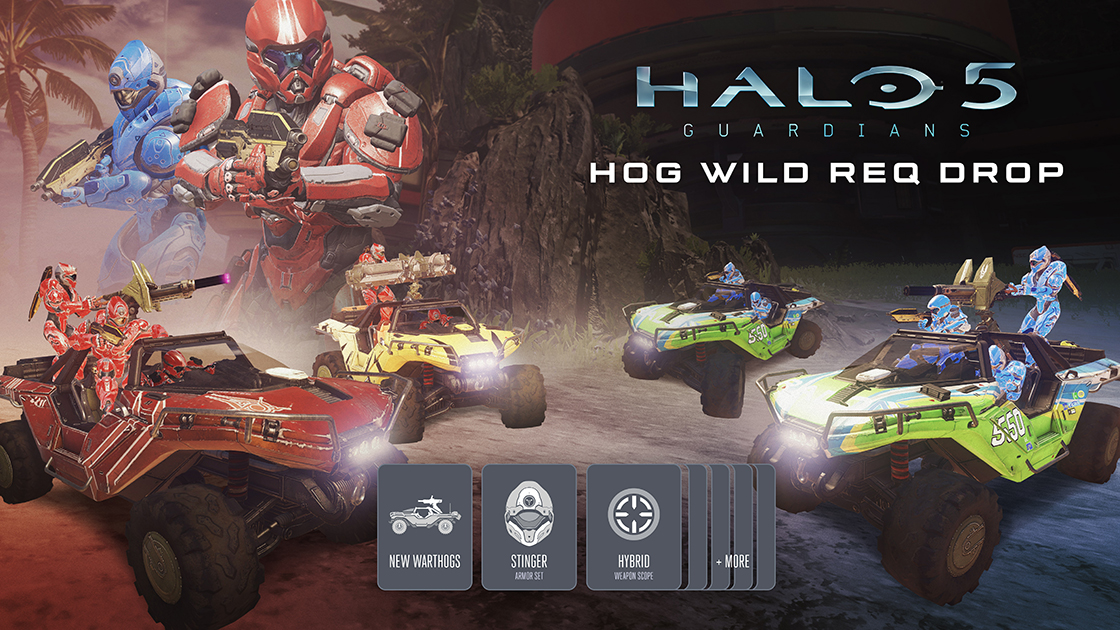 New Halo 5 Update Brings Additional Vehicles