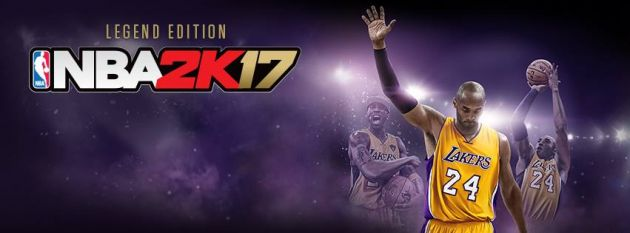 new product 1608b da6c2  NBA 2K17 Legend Edition  will ship with exclusive Kobe Bryant-themed  content