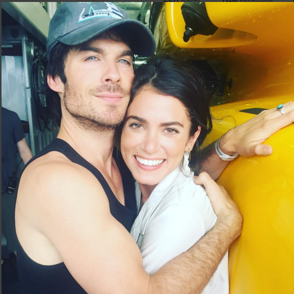 Ian somerhalder and nikki reed celebrate first wedding anniversary instagram ian somerhaldercouple ian somerhalder and nikki reed are still so much in love one year after getting married junglespirit Images