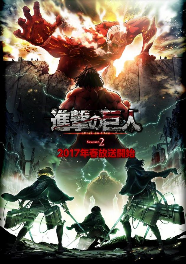 Attack On Titan Season 2 Identities Of Armored And Colossal Titans Krista To Be Revealed