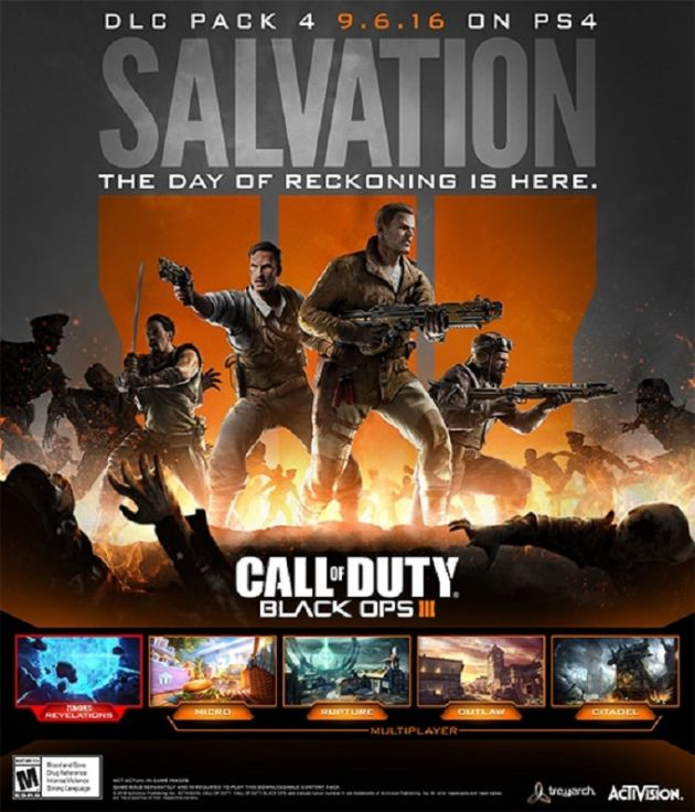 Call Of Duty Black Ops 3 Dlc News Salvation Brings Four New Maps