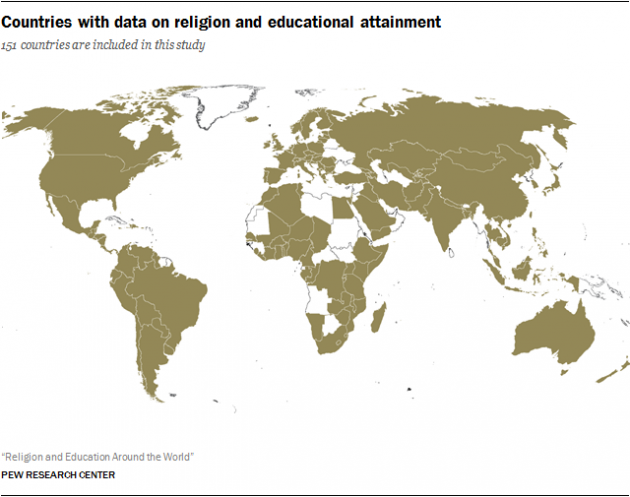 Jews Highest Educated Around World Christians Higher Than Muslims