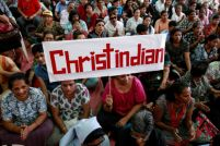 christian-indians-protest