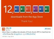 microsoft-tweet-on-12-million-office-for-ipad-downloads