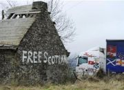 free-scotland-is-scrawled-outside-a-derelict-cottage-near-blackford-scotland